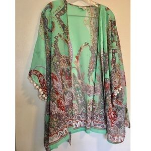 Boho-chic kimono